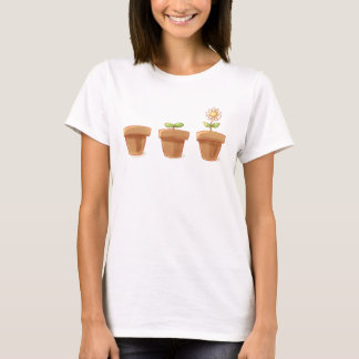 Camiseta Flowerpot bonito
