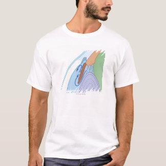 Camiseta Fluxo fluido na glaucoma crônica