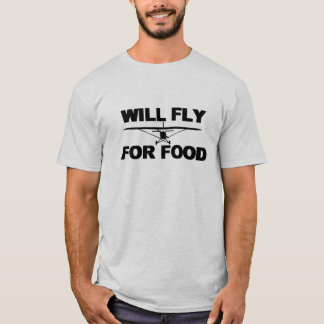 Camiseta Fly For Food quere