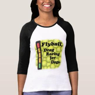Camiseta Flyball é arrasto que compete para cães!