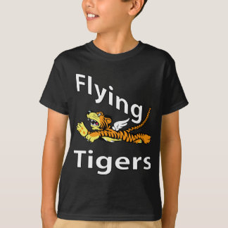 Camiseta Flying Tigers - tigre voado