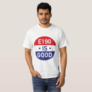 """Camiseta Fo Shizzle Drizzle the """"E190 IS GOOD"""" alpargata"""
