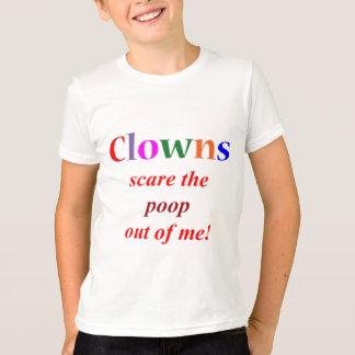 Camiseta Fobia do palhaço