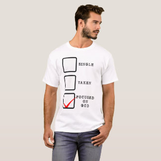 Camiseta Focalizado no deus