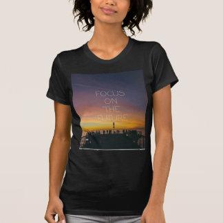 Camiseta foco no futuro