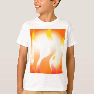 Camiseta Fogo abstrato