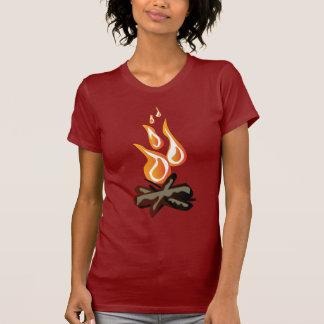 Camiseta Fogo Cosy do acampamento