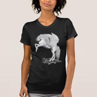 Camiseta Fogo da estrela. cavalo da fantasia