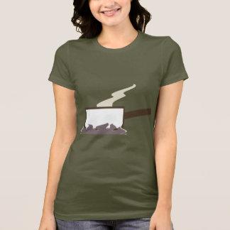 Camiseta Fogo de gás do cozinhar da bandeja do molho -