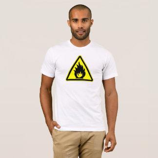 Camiseta Fogo do cuidado