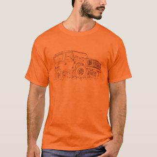 Camiseta Fogo do defensor da LR