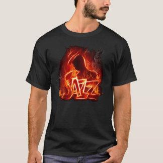 Camiseta Fogo do jazz