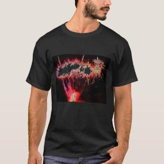 Camiseta fogos-de-artifício