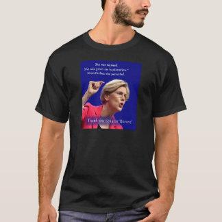 Camiseta Foi advertida