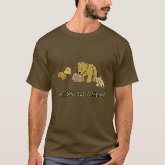 Camiseta Folclore velho impressionante do urso