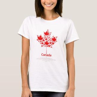 Camiseta Folha de bordo Canadá