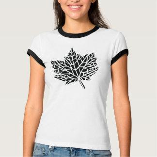 Camiseta folha de esqueleto (luz)