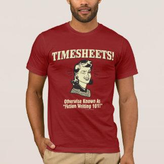 Camiseta Folha de presença: A ficção escrevendo 101