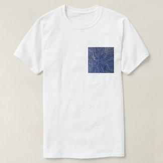 Camiseta Folhas azuis da medicina do arbusto
