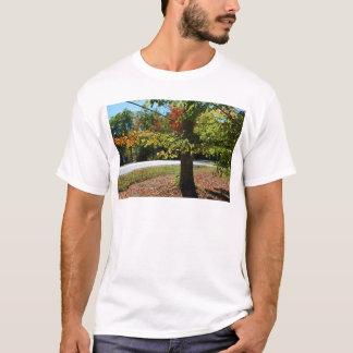 Camiseta Folhas de outono em Maine