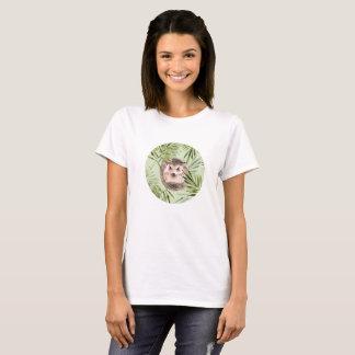 Camiseta Folhas do ouriço e do verde