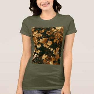 Camiseta Folhas mornas do Sepia