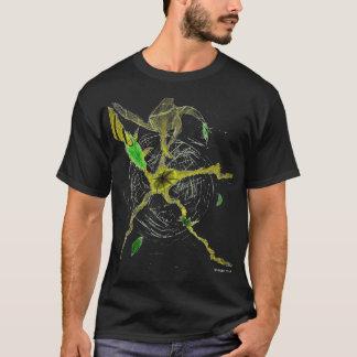 Camiseta Folhas no espaço