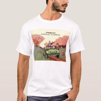 Camiseta Folheto das vendas de Citroen 2CV