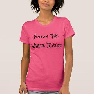 Camiseta Follow the White Rabbit Alice