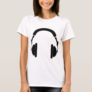 Camiseta Fones de ouvido