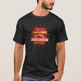 Camiseta Fonte Co. do Raygun do raio superior