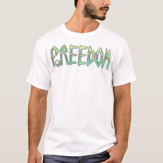 Camiseta footbags da liberdade
