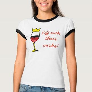 Camiseta Fora com de suas cortiça (lite)