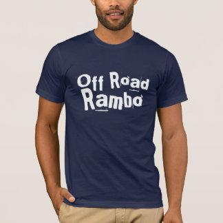 Camiseta Fora da estrada Rambo