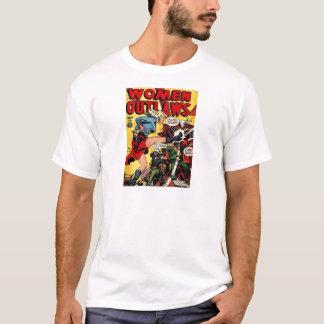 Camiseta Fora da lei da vaqueira