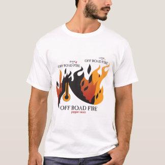 Camiseta Fora do fogo da estrada - homens destruídos