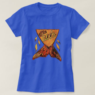 Camiseta Fora do gráfico duvidoso dourado do ~ do gancho