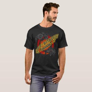 Camiseta Fora do toxicómano 4x4 da estrada