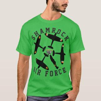 Camiseta Força aérea do trevo de Warkites