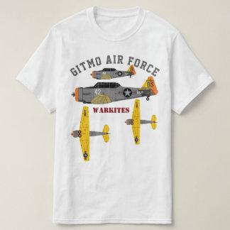 """Camiseta Força aérea"""" SNJ de Warkites """"Gitmo"""