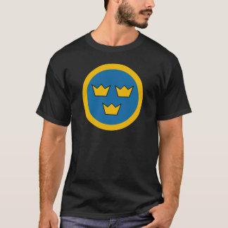 Camiseta Força aérea sueco