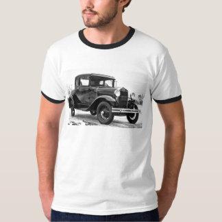 Camiseta Ford 1930 modela um cupé - B&W