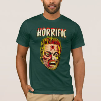 Camiseta Forma cómica do vintage horrível