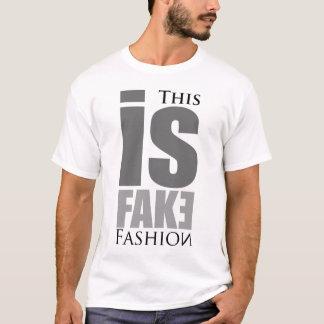 Camiseta Forma falsificada