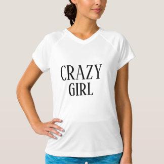 Camiseta Forma louca da menina