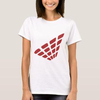 Camiseta Forma retro da pirâmide