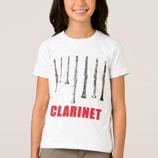 Camiseta Formação do clarinete
