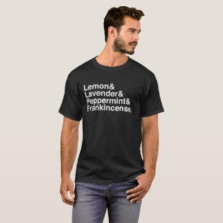 Camiseta Formação dos óleos essenciais