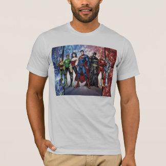 Camiseta Formação nova da liga de justiça 52 da liga de