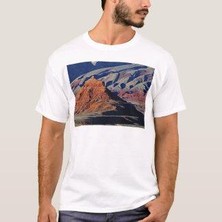 Camiseta formas naturais do deserto